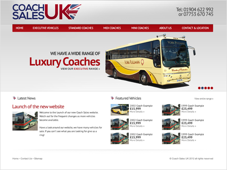 Coach Sales UK